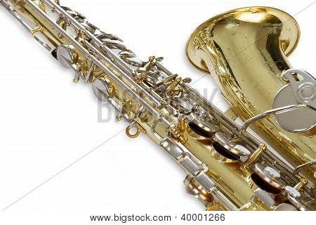 Saxophon close-up