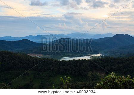 Dam And Mountain Doingoo