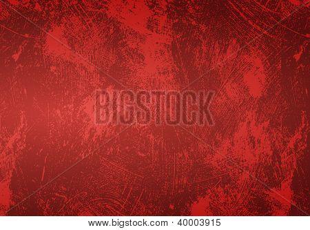 Rote Grunge hintergrund