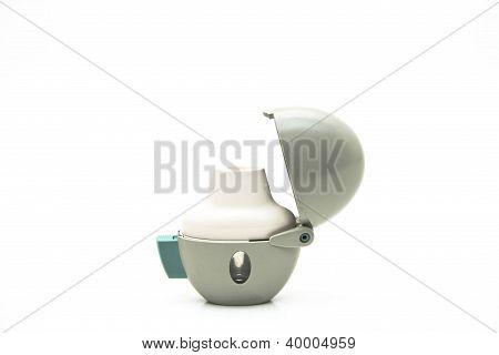 White inhaler