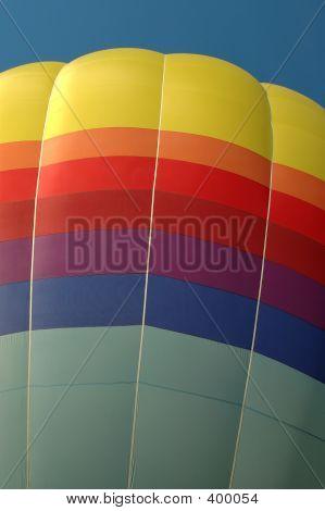 Rainbow Balloon In Sky