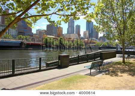 South Bank Yarra River Melbourne