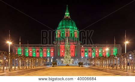 San Francisco During Christmas