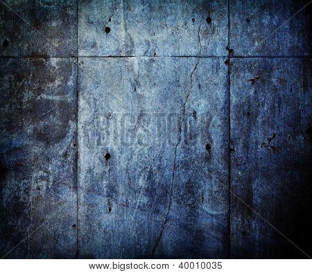 Muro de concreto velho e angustiado.