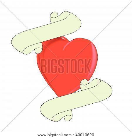 Blank Heart Logo