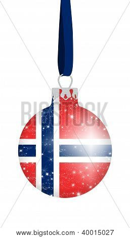 Christmas ball - Norway
