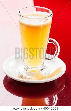 Mango lemon hot drink