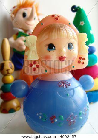 Toys A Doll Tumbler Toy