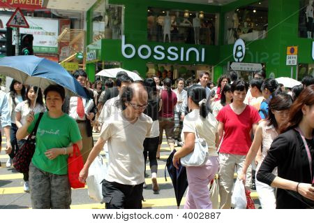 Hongkong - Passerby On Street