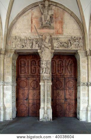 Entrance In Muenster