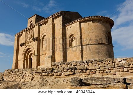 Church Of Santa Maria De La Piscina, Peci�a, La Sonsierra, La Rioja, Spain