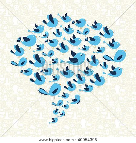 Twitting Social Birds Campaign