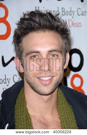 LOS ANGELES - 12 december: Blake Berris komt naar de NOH8 4e verjaardag partij op Avalon op December