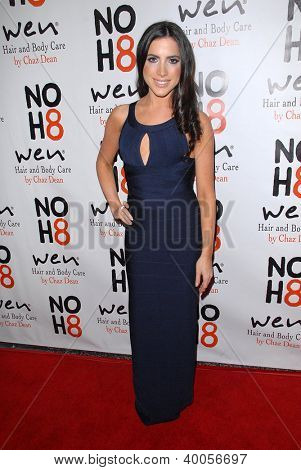 LOS ANGELES - DEC 12:  Caren Brooks arrives to the NOH8 4th Anniversary Party at Avalon on December 12, 2012 in Los Angeles, CA