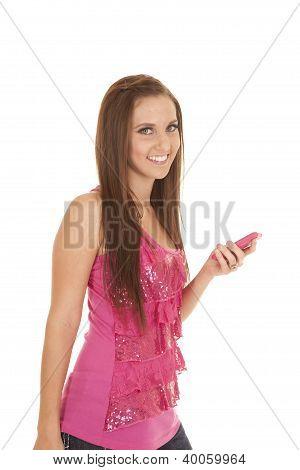 Pink Phone Shirt