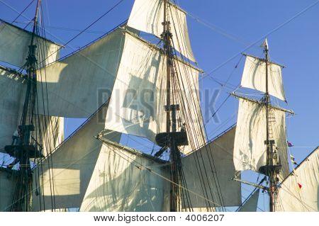Sails, Mast & Rigging