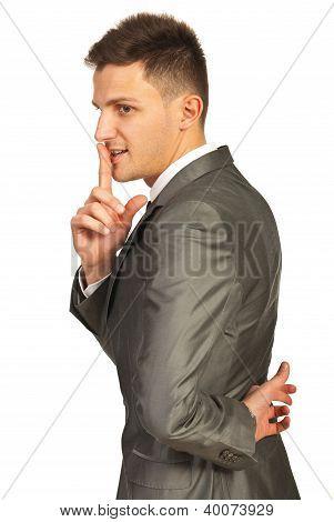 Ssh!liar Business Man