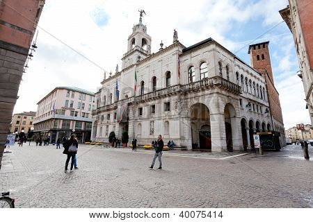 View Of Palazzo Moroni - Seat Of The Municipality Of Padua, Italy