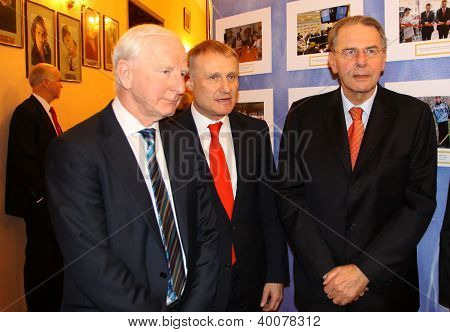 Patrick Joseph Hickey, Grygorii Surkis And Jacques Rogge