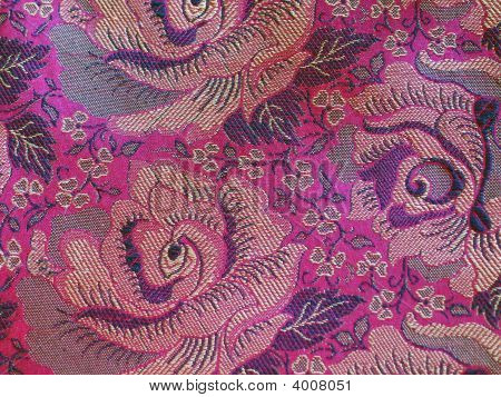 High Resolution Embossed Classical Fabric With Pattern