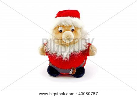 A Koala-like Figure In Santa Claus Costume