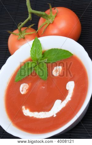 Tomato Soup Smiley
