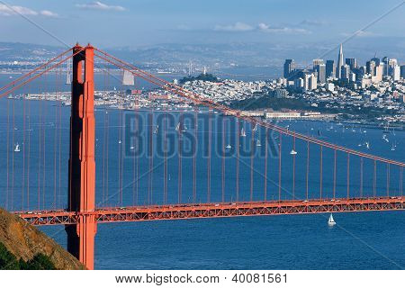 Part Of Golden Gate Bridge