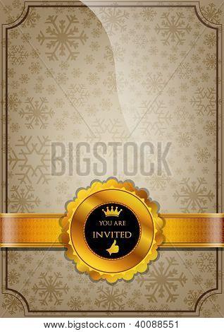 Brown Invitation Design