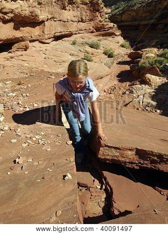 Climbing Through The Crack