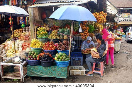 Asian Fruit Market