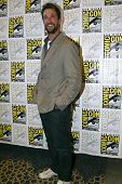 SAN DIEGO, CA - JULY 13: Noah Wyle arrives at the 2012 Comic Con convention press room at the Bayfro