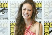 SAN DIEGO, CA - JULY 13: Summer Glau attends a press conference for
