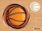 Spinning Basketball Icon