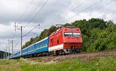 Ukrainian Passenger Train