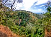 Manchewe Falls Viewpoint - Waterfall In Malawi