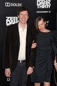 LOS ANGELES - DEC 10:  Paul WS Anderson, Milla Jovovich arrive to the 'Zero Dark Thirty' premiere at
