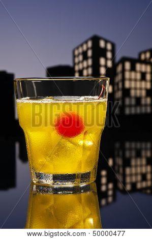 Metropolis Skrew Driver Cocktail