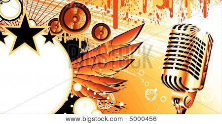 Music Frame Background