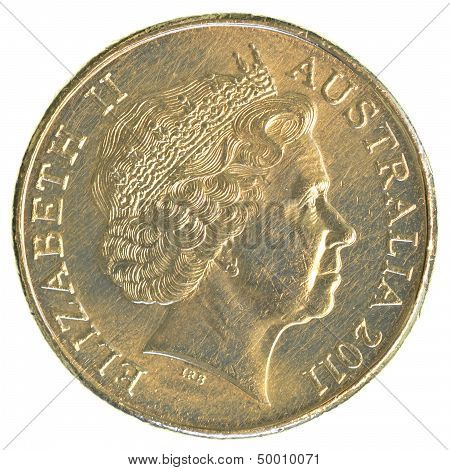One Australian Dollar Coin