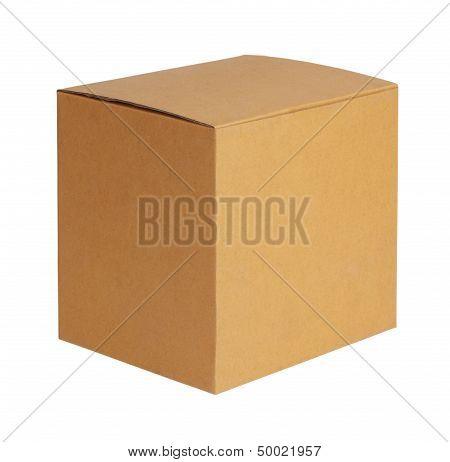 Square Cardboard Box