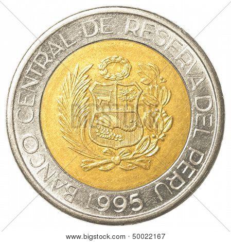Peruvian Nuevo Sol Coin