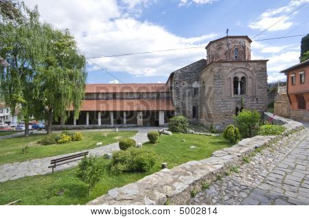 The Church Of Sveti (saint) Sofia, Ohrid, Macedonia