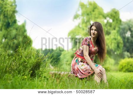 The Girl On The Nature