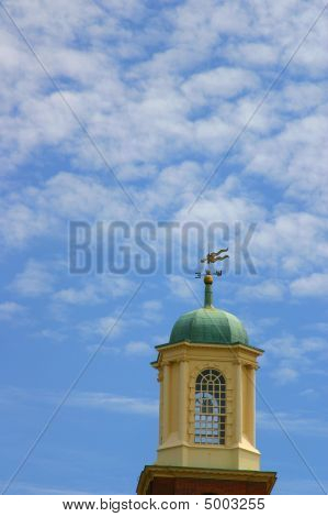 Church Tower With Sky