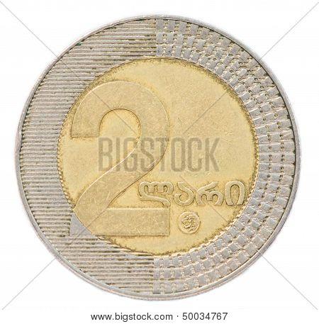 Two Georgian Lari Coin