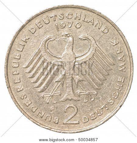 2 German Mark Coin