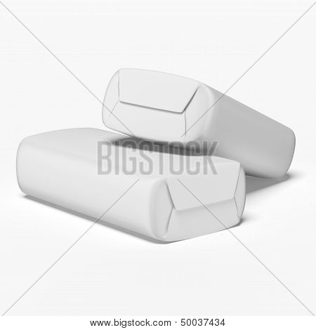 two white soapboxes