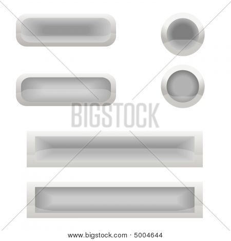Grey Buttons