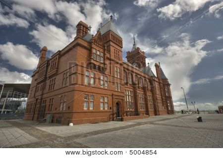 The Pierhead Building In Cardiff