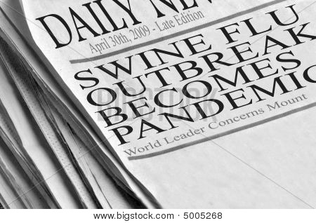 Swine Flu Outbreak Becomes Pandemic